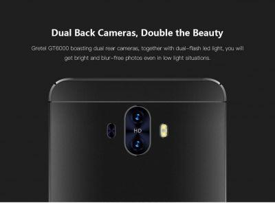 Gretel GT6000 Launched: Dual Rear Cameras, 6,000 mAh, Costs $109.99