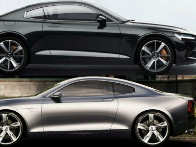 Yes, The Polestar 1 Is The Production Version Of Volvo's 2013 Coupe Concept