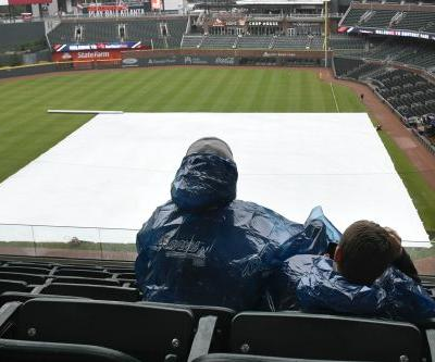 Mets-Braves game gets rained out