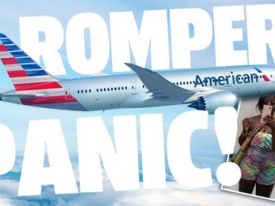 American Airlines Forces Doctor to Wrap Herself in Blanket Because They Thought Her Romper Was Inappropriate