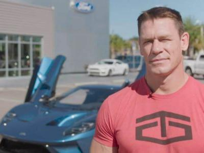 Ford Sues John Cena For Selling His 2017 GT Supercar For Profit
