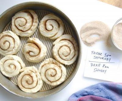 Overnight breakfast: Fresh-baked sweet rolls without the wait