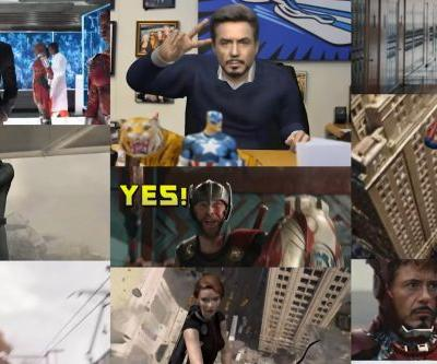 You can, and should, put yourself into an Avengers GIF