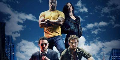 The Defenders BTS Photo Highlights the Heroes' Stunt Doubles