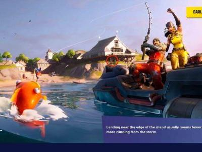"Fortnite ""O"" Location: Where To Search Letter O In Open Water Loading Screen"