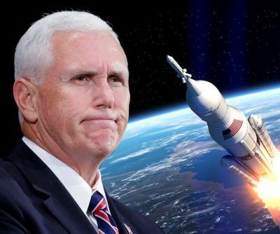 Pence says US has never needed a 'Space Force' more