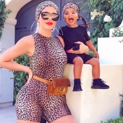 Khloé Kardashian and True Thompson Had the World's Cutest Mommy-Daughter Photo Shoot: 'A Leopard and Her Cub'
