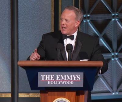 Sean Spicer makes cameo at Emmys