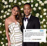Baking Hero Chrissy Teigen Just Traded Her Husband's Undies For Bananas