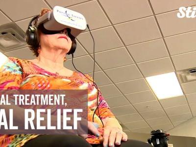 Virtual reality physical therapy offers alternative treatment to opioid use
