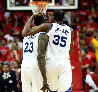 'We're not going to crumble': Draymond Green, Kevin Durant moving forward after argument