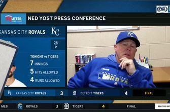 Yost frustrated with ruling of early challenge against Tigers