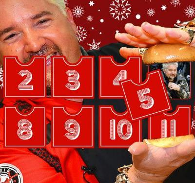 The 12 Days of Guy Fieri: Diners, Drive-ins and Do-Gooding