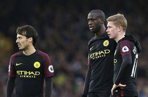 City sunk 4-0 at Everton for Guardiola's biggest league loss