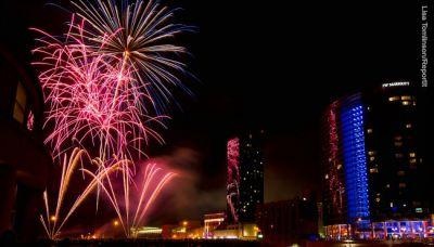 Thousands gather to watch Grand Haven fireworks