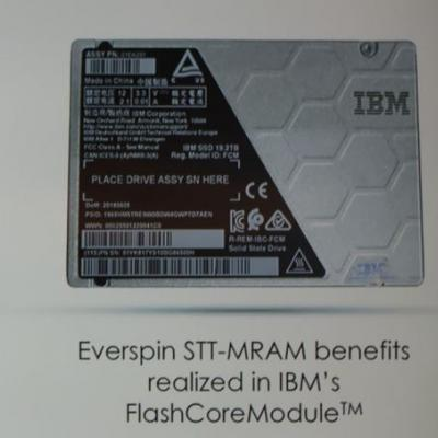 IBM And Everspin Announce 19TB NVMe SSD With MRAM Write Cache