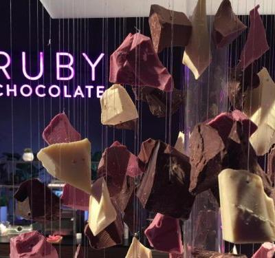 There's a new kind of chocolate for the first time in 80 years - and it's pink