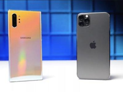 Watch the iPhone 11 take on the Galaxy Note 10 in latest drop test
