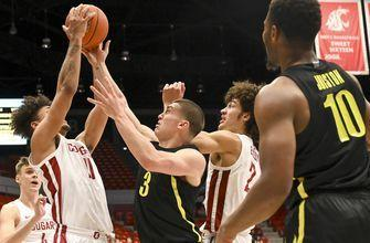 Elleby scores 25, Washington State surprises No. 8 Oregon