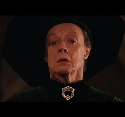 The 'Harry Potter' director used to send Daniel Radcliffe to get Professor McGonagall actress Maggie Smith from her trailer because he was scared of her