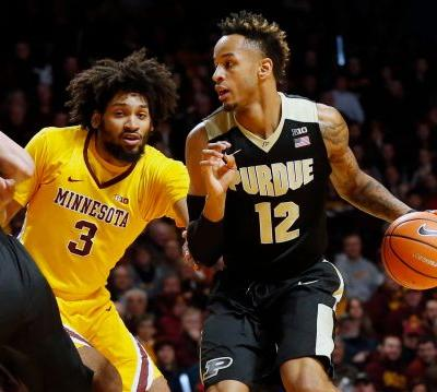 Vincent Edwards again ignites Purdue basketball victory at Minnesota