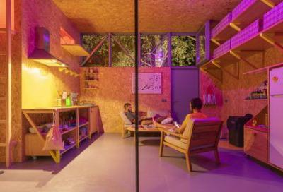 Love Shack, working Abode / Husos Architects