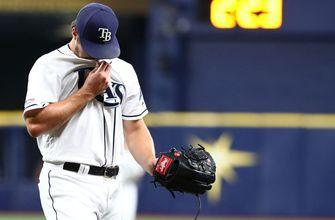 Rays unable to bounce back from Red Sox's seven-run 3rd inning, drop series opener 9-4