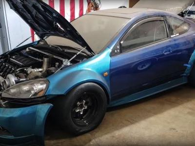 This 10.6-Litre, Twin-V8 Acura RSX Is A Jaw-Dropping 1700hp Project
