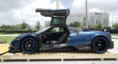 Blue Carbon Pagani Huayra BC Is One-Of-A-Kind