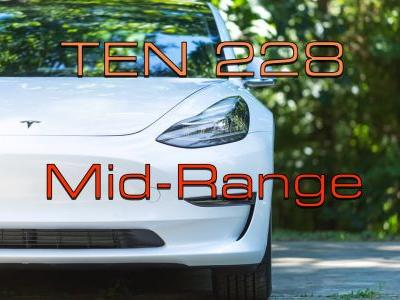 Model 3 Mid-Range, Nissan LEAF e-Plus Price, Spooky iPace - TEN Episode 228
