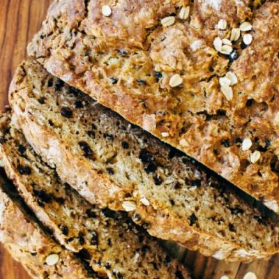 Honey Oat Irish Soda Bread