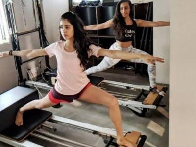 Janhvi Kapoor sweat it out in the gym and earned her Christmas pudding. What about you?