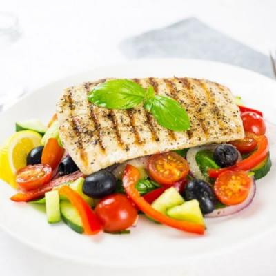 Greek Fish Salad