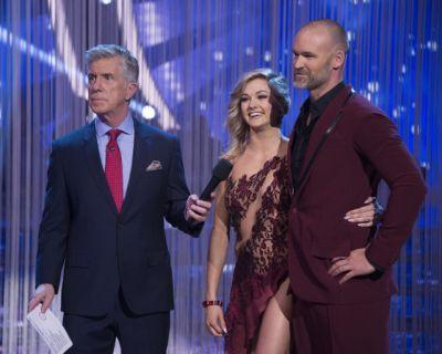 How did David Ross do on 'Dancing With the Stars' week 7 on a double elimination week?