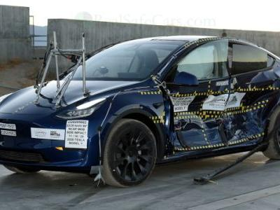 Tesla Claims Model Y Boasts Lowest SUV Rollover Risk Ever In NHTSA Crash Testing