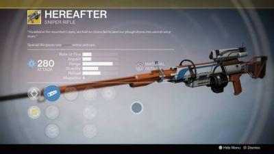 Destiny Xur update: Should you buy Hereafter?