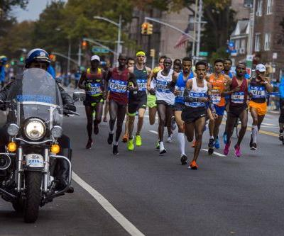 Despite last week's terror attack, NYC marathon runners stay the course