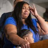 """The Mother of George Floyd's 6-Year-Old Daughter: """"He Will Never See Her Grow Up"""""""