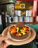 There's a New Peanut Butter Brownie at Disney, and It's Covered in Reese's Pieces