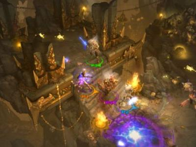 Diablo III: Eternal Collection can be played with a single Joy-Con, will use the Switch Online mobile app for voice chat