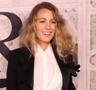 Blake Lively says she's been wearing Ryan Reynolds' clothes - and it proves pantsuits are Hollywood's latest favorite trend