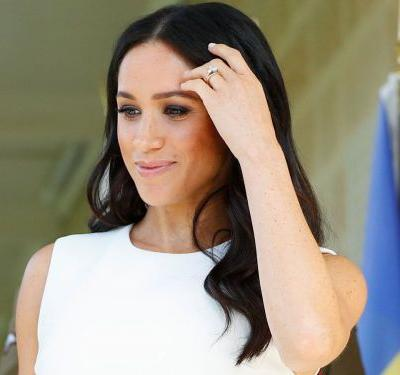 Meghan Markle Subtly Debuted Her Baby Bump in Australia
