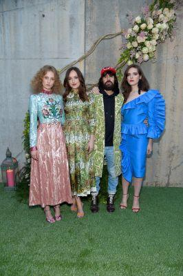 "Gucci Launch Alessandro Michele's First Fragrance ""Bloom"" In New York"