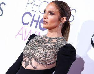 Why Jennifer Lopez's Dress Caused Such A Stir At The People's Choice Awards