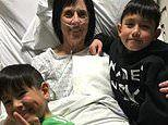 Brothers, 10 and 7, save their grandmother's life after she had a heart attack by performing CPR