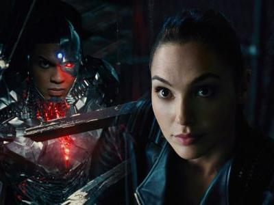 New Justice League Images Focus on Cyborg & Wonder Woman