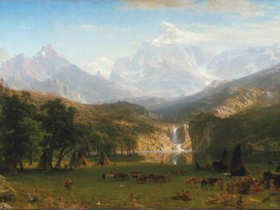 Albert Bierstadt , born on this day in 1830