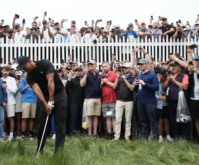 Wild scene around Tiger Woods at the PGA Championship shows how people are often more obsessed with capturing a moment instead of enjoying it