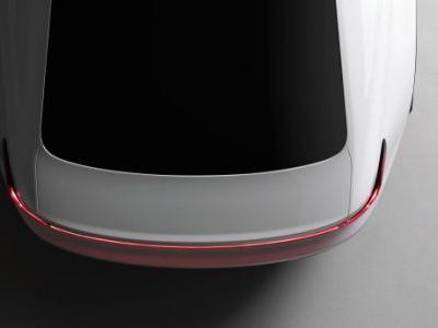 Volvo released a teaser image of its Tesla rival, the Polestar 2