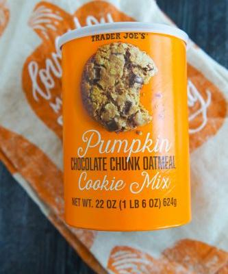 Sweet on Trader Joe's Sunday: Pumpkin Chocolate Chunk Oatmeal Cookie Mix
